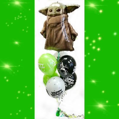 Amscan Baby Yoda Bunch