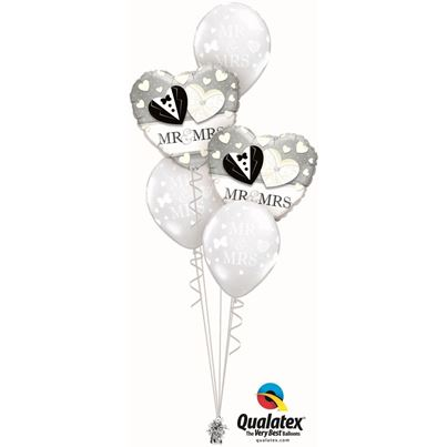 Qualatex Mr & Mrs Classic