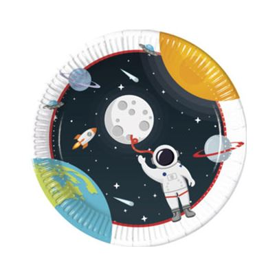 Pioneer Astronaut Space Plates 8pk
