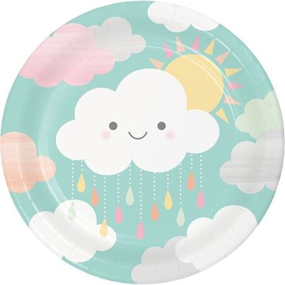 Sunshine Baby shower Plates