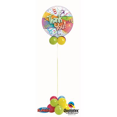 Qualatex Thank You Bubble Fun Base