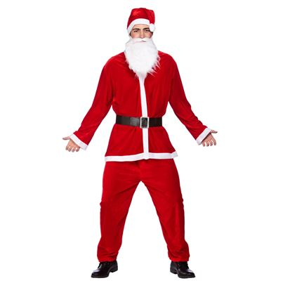 Wicked Velour Deluxe Santa Suit 5pc