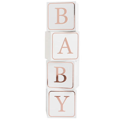 Giant Baby Blocks 4pk