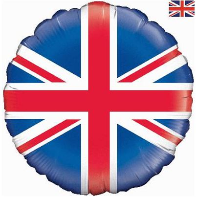 Oaktree Union Jack Foil Inflated