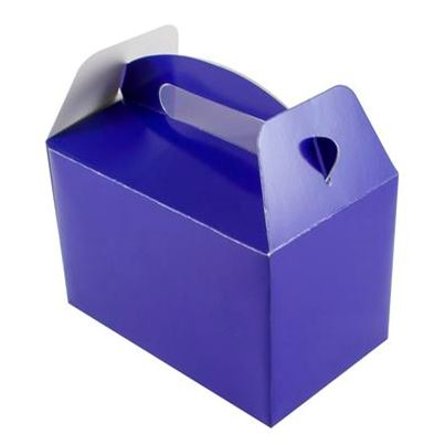 Royal Blue Party Boxes 6pk
