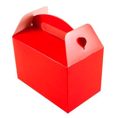 Red Party Boxes 6pk