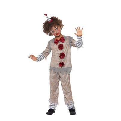 Vintage Clown Child's Costume