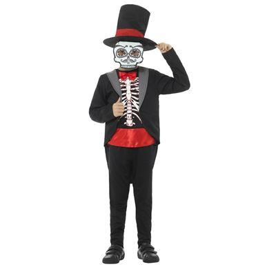 Smiffys Day of the Dead Boy Costume