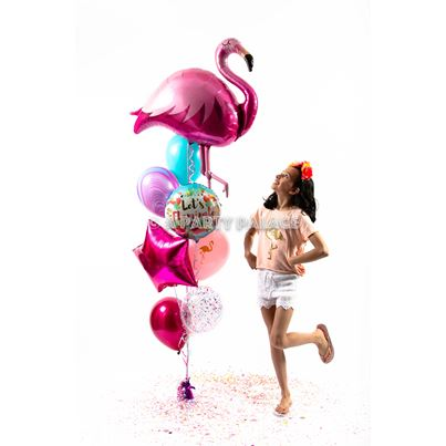 Amscan Flamingo Giant Party Bunch