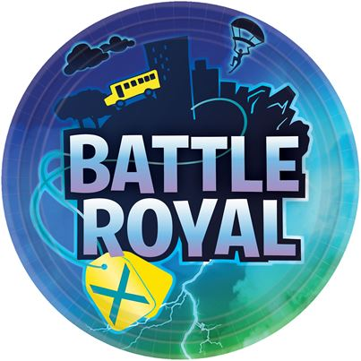 Amscan Battle Royal Plates 8pk