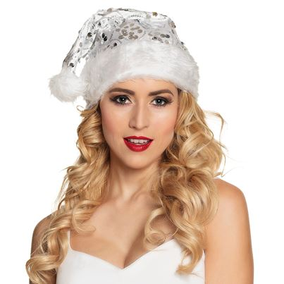 Angelic Santa Hat
