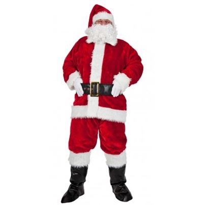 Wicked Plush Professional Santa Suit 8pc