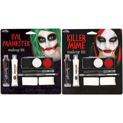 Killer Mime Makeup