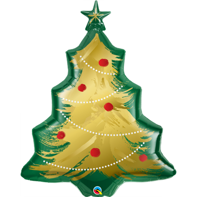 Qualatex Christmas Tree Shape Foil