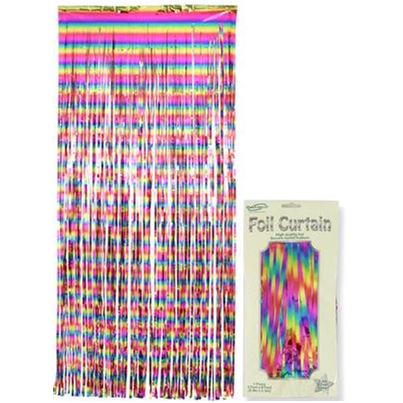 Oaktree Rainbow Shimmer Curtain