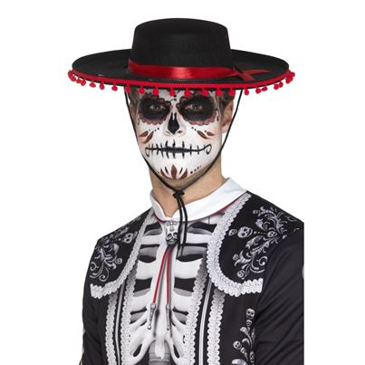 Smiffys Day of the Dead Senōr Hat
