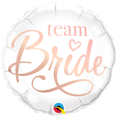 Qualatex 'Team Bride' Foil