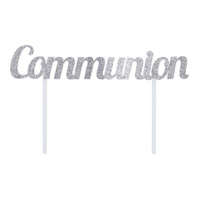 'Communion' Cake Topper